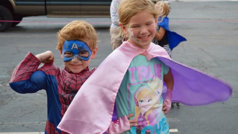 SuperHero Run for Kids Fills Downtown Streets