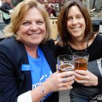 Jennifer McKettrick and Michele Schuster at Rhinegeist 2017.