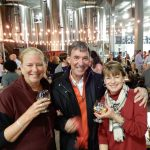 JoAnn Hagopian, John Concannon and Cindy Chalfonte at Rhinegeist 2017.