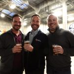 Michael Schweitzer, Mark Schweitzer and Bob McMahon at Rhinegeist 2017.