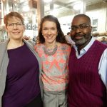 Tracy Cook, Renee S. Filiatraut and John Williams at Rhinegeist 2017.