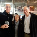 Yousef Aouad, Julie and Mark Bodnar at Rhinegeist 2017.