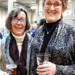 Carrie Houchin and Anne Merrell at Rhinegeist 2017.