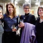 Karen Krieger, Lynne Miller, Wanda Nichols and Julie Glazer at Rhinegeist 2017.