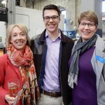 Liz Ricci, Quinn Aouad and Tracy Cook at Rhinegeist 2017.