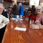 Mike Hardy, Magistrate John Coleman, Yolanda Coleman, Lee Hardy and Barry Hoffman at Rhinegeist 2017.