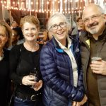 Nancy Gaffney, Leslie Demoret, Jean and George Kachikis at Rhinegeist 2017.