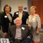 Liz Swain, Donald Swain, Pam Riestenberg and (seated) Larry Reistenberg
