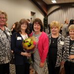 Melinda Klenk, new CASA Volunteer Pam Umney, Chris Bochenek , Dorothy Meyer, Carol Ebert