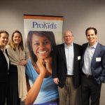 ProKids Board Member MacKenzie Chavez with Megan Stagnaro, Chris Stagnaro, Mike Stagnaro